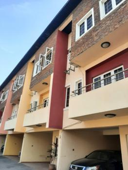 a Fantastically Finished 3 Bedroom Terrace with a Room Bq, Ikate Elegushi, Lekki, Lagos, Terraced Duplex for Rent