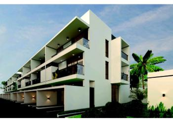 Off Plan Luxury Fully Serviced 4 Bedroom Terrace Duplex with Bq, Lekki Phase 1, Lekki, Lagos, Terraced Duplex for Sale