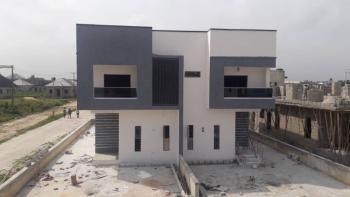 Lovely 3 Bedroom Semi Detached Duplex with Bq Swimming Pool, Inside an Estate Facing Expressway in Bogije Lekki Scheme 2, Sangotedo, Ajah, Lagos, Semi-detached Duplex for Sale
