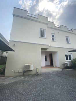 Nicely Built 4 Bedroom Terrace Duplex with a Bq, Banana Island, Ikoyi, Lagos, Terraced Duplex for Rent