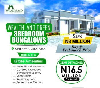 3 Bedroom Fully Detached Bungalow (in a Gated Estate), Oribanwa, Awoyaya, Ibeju Lekki, Lagos, Detached Bungalow for Sale