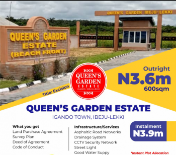Great Land Investment Opportunity, Along The Coastal Road! Igando Orudu Town, Off Eleko Road, Ibeju-lekki, Few Minutes From Eleko, Eleko, Ibeju Lekki, Lagos, Land for Sale