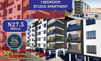 Luxury Finished 1bedroom Apartment with 12months Payment No Interest, Behind Romey Gardens Opposite Nicon Town Close to Elevation Church, Ikate, Lekki, Lagos, House for Sale