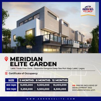 Land with C of O, Meridian Elite Garden Lekki Free Trade Zone, Lekki Free Trade Zone, Lekki, Lagos, Mixed-use Land for Sale