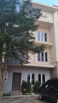 Luxuriously Finished 4 Bedrooms Terrace Duplex, Asokoro Extension, Asokoro District, Abuja, Terraced Duplex for Sale