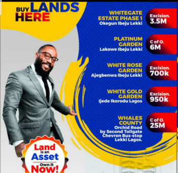 Landed Property in Orchids, Lekki Lagos, Lafiaji, Lekki, Lagos, Residential Land for Sale