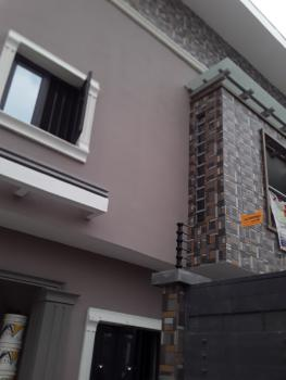 a Luxury No Service 4 Bedroom Terrace Duplex in Beautiful Estate, Freedom Way, Lekki Phase 1, Lekki, Lagos, Terraced Duplex for Rent