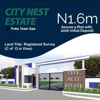 55 Acres of Land, Poka Epe Just a Minute Drive From The Atlantic Hall School, Epe, Lagos, Residential Land for Sale