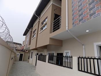 New House Clean 4 Bedroom Semi Detached Duplex with Security House, Ologolo, Jakande, Lekki, Lagos, Semi-detached Duplex for Rent
