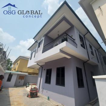 Luxury 5 Bedroom Semi Detached Duplex with Bq, Lekki Scheme 2 Off Ogombo Road By Abraham Adesanya, Ajah, Lagos, Semi-detached Bungalow for Sale