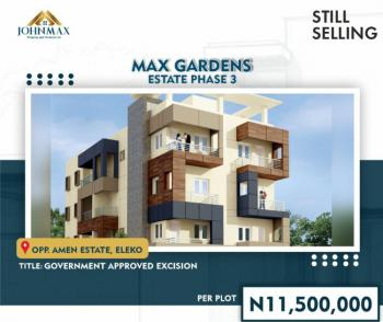 Plots of Land, Opposite Amen Estate, Eleko Beach Road, Eleko, Ibeju Lekki, Lagos, Mixed-use Land for Sale