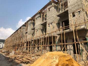 2-storey 4 Bedroom Terreced Duplex + Bq, Ikate Elegushi, Lekki, Lagos, Terraced Duplex for Sale