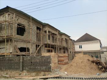 a Grand Well Finshed 4 Bedroom Terrace  Duplex, Laverna Gardens Phase 1 Located Behind Skymall Cimemas, Sangotedo, Ajah, Lagos, Terraced Bungalow for Sale