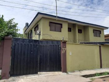 4 Units of 3 Bedroom Flats with  Pent House Self Contained, Ajoke Okunsanya Street, Off Okiki Street, Off Ago Palace Way, Okota, Isolo, Lagos, Block of Flats for Sale