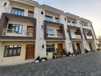 Luxury 4 Bedrooms Terrace House with Bq, No5 Christ Chapel Street, Lekki Phase 1, Lekki, Lagos, Terraced Duplex for Rent