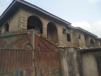 Uncompleted House Consist of Four Numbers of Three Bedroom Flat, Agric Egan, Igando, Ikotun, Lagos, Block of Flats for Sale