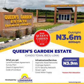 Land in a Serene Environment, Queens Garden Estate, Igando Orudu, Ibeju Lekki, Lagos, Mixed-use Land for Sale