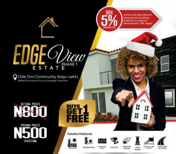 Affordable Luxury Land! Buy 5 and Get 1 Free, Ode Omi, Ibeju Lekki, Lagos, Land for Sale