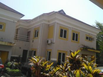 Nice 4-bedroom Terraced Duplex with Bq Within a Serviced Estate, Maitama District, Abuja, Terraced Duplex for Rent