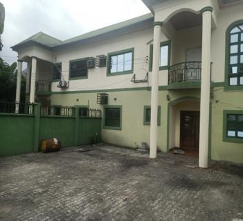 4 Bedroom Duplex with a Room Bq, Christmas Village Close, Eagle Island, Port Harcourt, Rivers, Detached Duplex for Rent