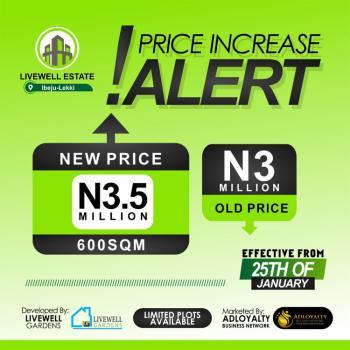 Land at Livewell Estate, Livewell Estate, Ibeju Lekki, Lagos, Mixed-use Land for Sale