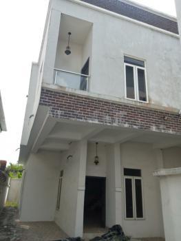 Brand New 4 Bedroom Semi-detached Duplex with a Bq, Chevy View Estate, Chevron Drive, Lekki, Lagos, Semi-detached Duplex for Rent