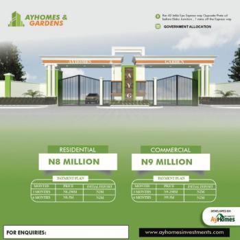 Gated Govt. Approved Titled Land in Serene Location, Ay Gardens & Homes Estate Abule Foli,lekki Eolii, Eluju, Ibeju Lekki, Lagos, Mixed-use Land for Sale