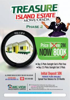 High Valued Land in Beautiful Estate, Mowe Ofada, Ogun, Residential Land for Sale