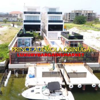 Prince Ademola Osinuga Waterfront Fully Detached House +private Jetty!, Banana Island, Ikoyi, Lagos, Detached Duplex for Sale