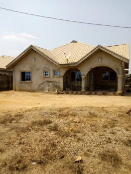 Four Bedroom Bungalow, Alagbaka Extension, Akure, Ondo, Detached Bungalow for Sale
