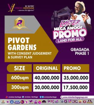 Just Out: Very Affordable Land, Pivot Gardens, Opposite Northwest, Gbagada Phase 1, Gbagada, Lagos, Mixed-use Land for Sale