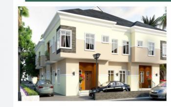 5 Bedroom Semi Detached Duplex, By Atlantic Layout, General Paint Bustop, Ajah, Lagos, Terraced Duplex for Sale