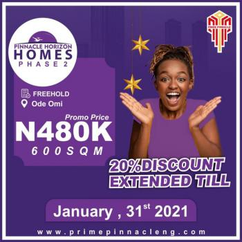 600 Square Meter Land at Ode Omi Ibeju Lekki, Ode Omi, Ibeju Lekki, Lagos, Mixed-use Land for Sale