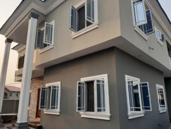 Clean 3 Bedroom Flat Upstairs with Just Tennants, Peninsula Garden Estate, Sangotedo, Ajah, Lagos, Flat for Rent