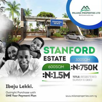 Residential Land, Standfort Estate, Owode Ise, Ibeju Lekki, Lagos, Mixed-use Land for Sale