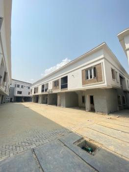 a Lovely 4 Bedroom Terraced Duplex with a Room Bq in a Secured Locatio, 2nd Toll Gate Lekki, Lekki, Lagos, Terraced Duplex for Sale