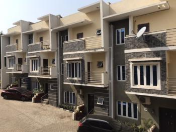 Sail Into Your New Home: Premium 4 Bedrooms Terrace Duplex in an Estate, Off Olusegun Obasanjo Way, Wuye, Abuja, Terraced Duplex for Sale