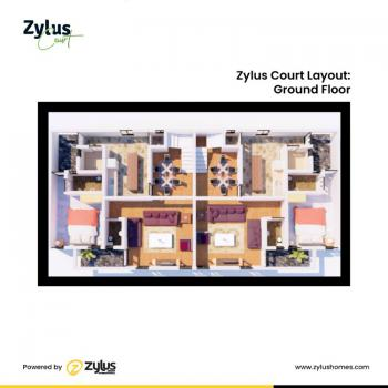 Semi - Finished-  3 Bedroom Semi-detached Building+standard Bq, Zylus Court, Bogije, Ibeju Lekki, Lagos, Semi-detached Bungalow for Sale