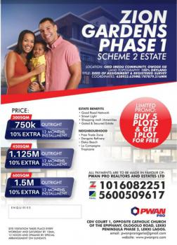 Limited Fast Selling 100% Dry Land in a Secured, Built Up Neighborhood, Ibeju Lekki, Ibeju Lekki, Lagos, Mixed-use Land for Sale