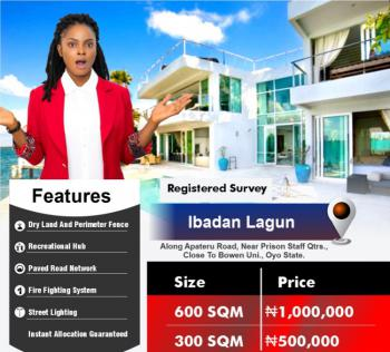600 and 300 Sqm of Lands, Ibadan Lagun, Ibadan, Oyo, Residential Land for Sale