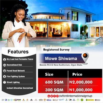 600 and 300sqm of Lands, Mowe Shiwama, Mowe Ofada, Ogun, Mixed-use Land for Sale