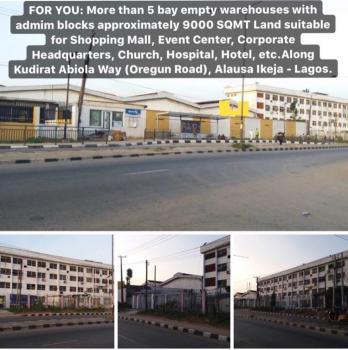 5+ Bay Empty Warehouse, Along Kudirat Abiola Way, Oregun, Ikeja, Lagos, Warehouse for Sale