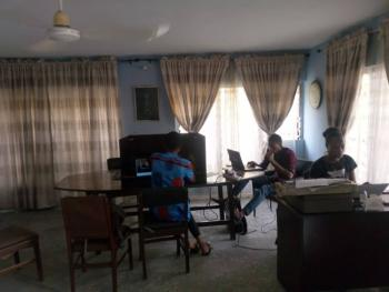 Shared Office Space in a Nice Location with Wifi and Power and Cafe, Inim Etok Akpan Lane, Uyo, Akwa Ibom, Office Space for Rent