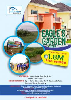 Serviced Residential Land at Eagles Garden, The Eagles Heights Along Isele Azagba Road, Asaba, Delta, Residential Land for Sale
