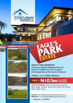Land with C of O at Eagles Park Estate, Eagles Heights Estate, Bogije, Ibeju Lekki, Lagos, Residential Land for Sale