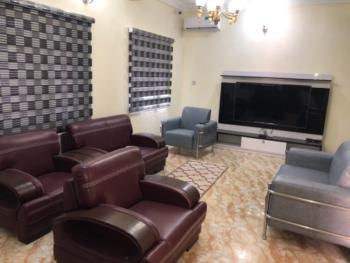 Luxury and Furnished Four Bedroom Terrace Duplex with Attached Bq, Wuye, Abuja, House for Rent