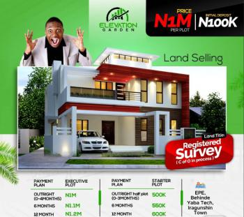 Residential Plot Within an Estate, Behind Yabatech, Iragunshin, Epe, Lagos, Mixed-use Land for Sale