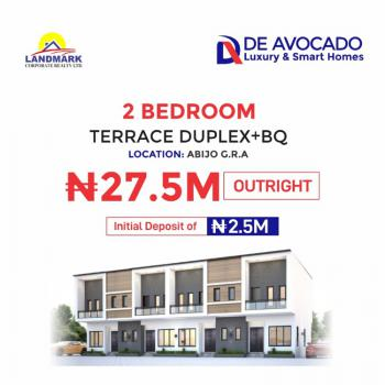 2 Bedroom Terraced Duplex in a Serene Environment, Abijo Gra, Sangotedo, Ajah, Lagos, Terraced Duplex for Sale