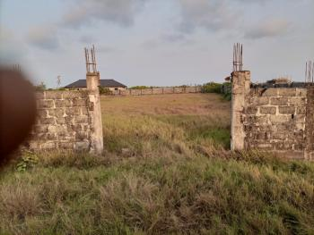 Three Fenced Plot Facing Main Road. Excellent Title: Gazette, Facing Siriwon Road, 5 Minutes Drive From Dangote Mega Industry, Ibeju Lekki, Lagos, Mixed-use Land for Sale