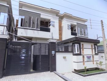 New House Solar+ Inverter Clean 4 Bedroom Semi Detached Duplex+bq, Ologolo, Jakande, Lekki, Lagos, Detached Duplex for Sale